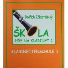 B.Zákostelecký - Škola hry na klarinet 1.díl