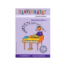 Klavihrátky - čarování u klavíru pracovní sešit 3
