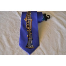 Kravata Robin Ruth klarinet modrá