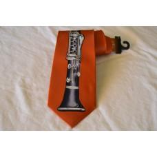 Kravata Robin Ruth klarinet oranž