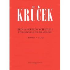 Krůček-Škola houslových etud I.