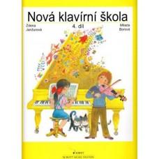 Janžurová,Borová-Nová klavírní škola 4.díl