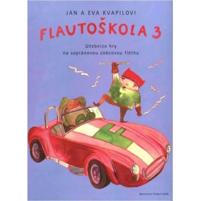 Flautoškola 3 - učebnice hry na sopránovou zobcovou flétnu