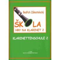 B.Zákostelecký - Škola hry na klarinet 2.díl