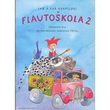Flautoškola 2 - učebnice hry na sopránovou zobcovou flétnu