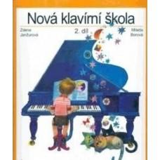 Janžurová,Borová-Nová klavírní škola 2.díl