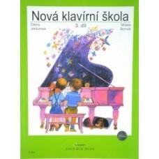Janžurová,Borová-Nová klavírní škola 3.díl