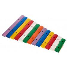 Xylofon barevný